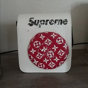 Customs made LV Supreme instax mini 70 camera case